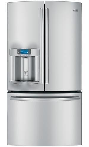 GE French Door refrigerators for 2012