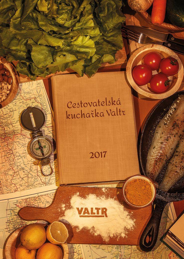 Kalendář Valtr 2017 - Cestovatelská kuchařka Valtr, titulka, www.michalbotek.cz