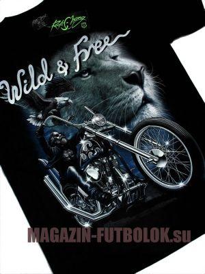 Wild Free - футболки с мото символикой