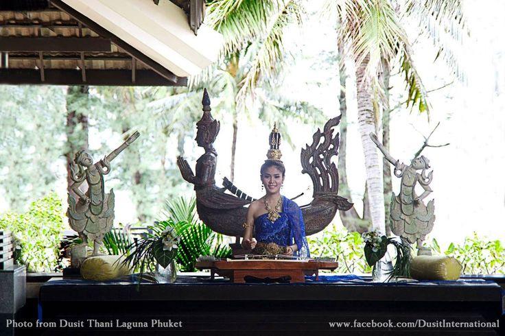 Khim Greeting at Dusit Thani Laguna Phuket. #thailand