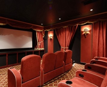 Home Theater Design Ideas   Interior Design   Home Theatre Can Give You The  Experience Of Being In A Cinema Inside Your Home And Many People Nowadays  Prefer ...