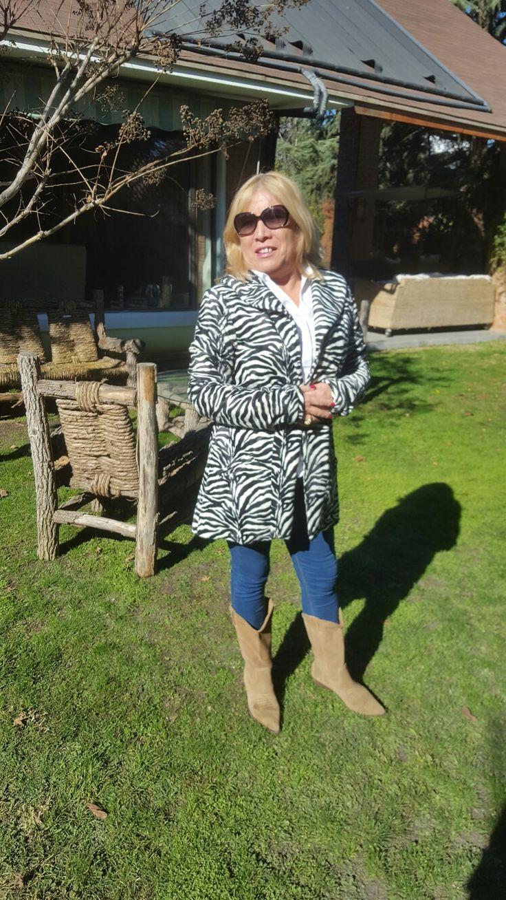 chaqueta zebra