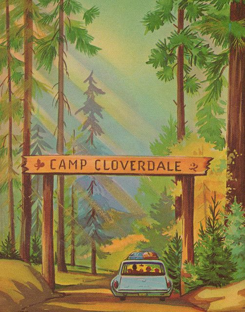Camp Cloverdale.........so cute, Cloverdale, IN is about 20 miles from us!