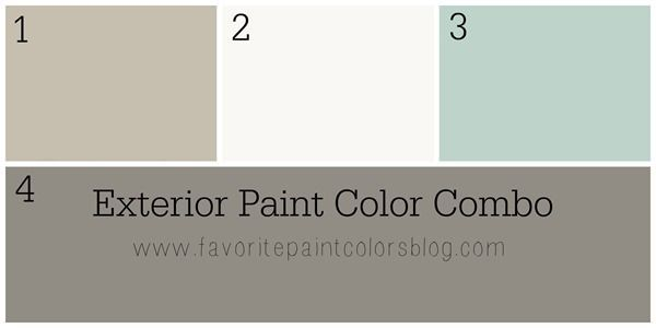 I received a question from a reader in California who is trying to figure out paint colors for the exterior of her home. On the bottom she has wood and on the top, or middle, she has stucco. She wrote