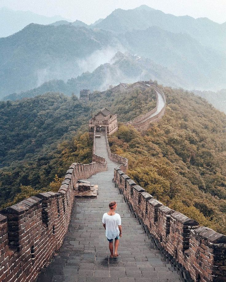 Unplugged Family Vacation When Was Great Wall Of China Built Only On This Page China Greatwall Asia Tra Great Wall Of China Travel Photography China Travel