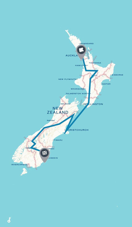 New Zealand Trip on Roadtrippers