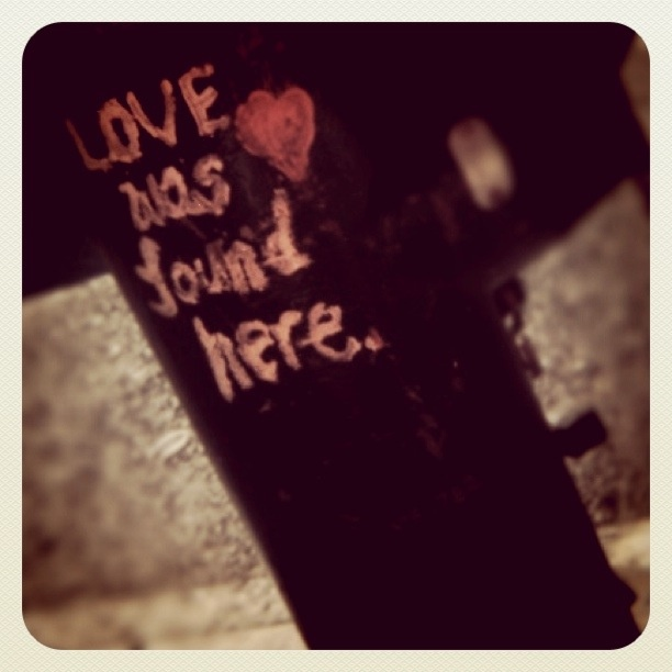love was found here..