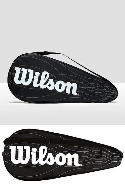Racquet Covers 148908: Wilson Performance Racket Cover For One Tennisracket BUY IT NOW ONLY: $31.67
