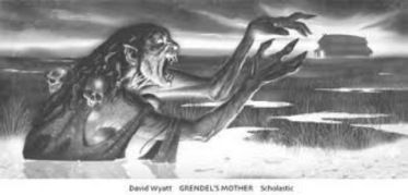 Grendel's mother and the lake