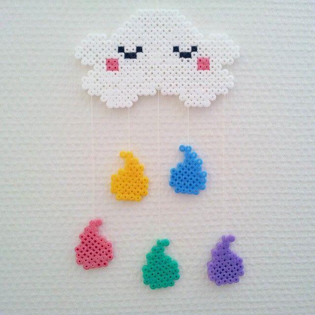Cloud hama beads by randigakatten