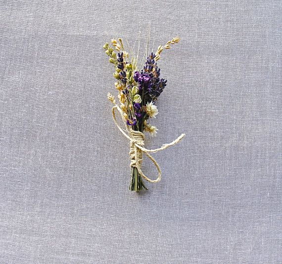 Summer Wedding Lavender Larkspur and Wheat by paulajeansgarden, $7.25
