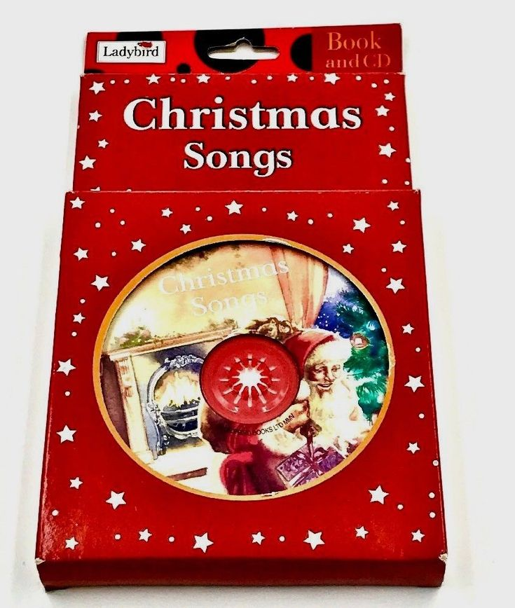 Old Vintage Ladybird Christmas Songs Book And Cd Pack NEW Festive Family Fun