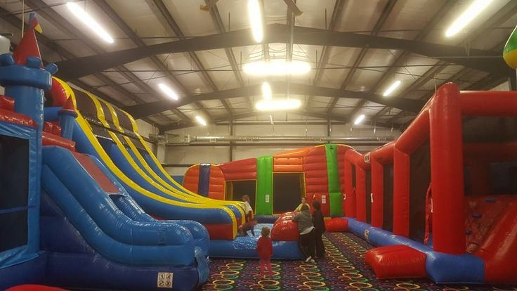 Indoor Bounce House Facility for kids and families. We can host any party or group. Great indoor activities for kids.