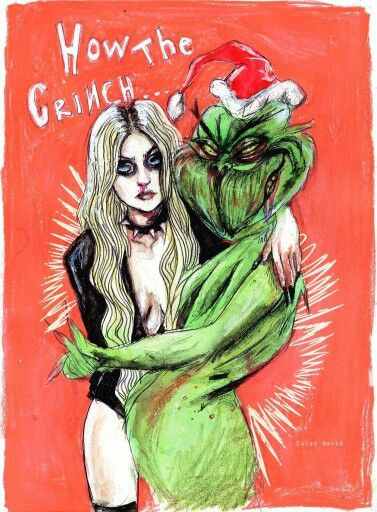 Taylor Momsen and the Grinch-Lucas David