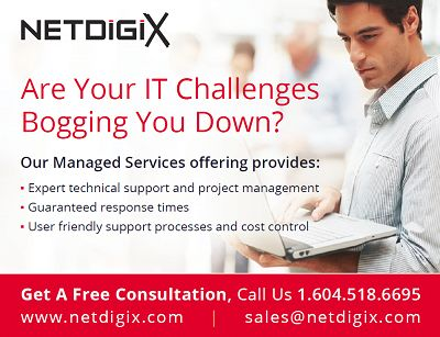 Vancouver computer support : Desktop support services & computer repair onsite | Netdigix Systems Inc