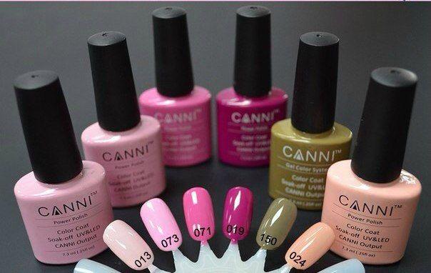 Эти оттенки заслуживают отдельного места в нашей подборке. Такие цвета понравятся большинству. #canni #gellak #shellac #маникюр #ногти #шеллак #гельлак #manicure #gellak #shellac