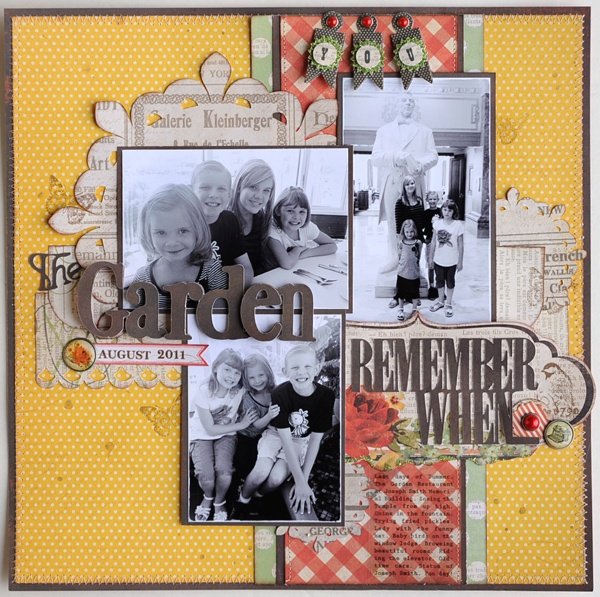 .neat idea to use other patterned paper in the cricut