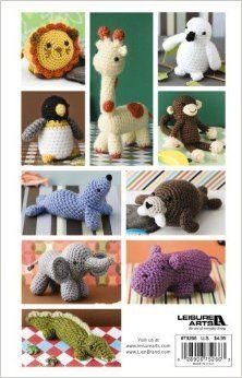 Easy Crochet Critters (Leisure Arts #75266) (Vanna's Choice): Lion Brand Yarn: 0028906752663: Amazon.com: Books