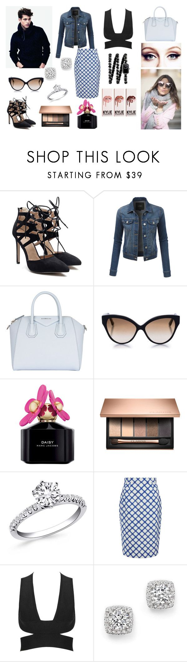 """Kiss Kiss"" by izzie1800 ❤ liked on Polyvore featuring LE3NO, Givenchy, Cutler and Gross, Marc Jacobs, Jonathan Saunders, Bloomingdale's and Chanel"