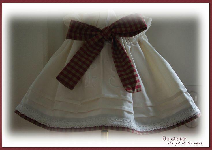 Une jupe d'abat-jour - Un atelier, du fil et des idées