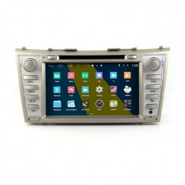 Autoradio DVD GPS Android Toyota Camry (2007-2010) USB Bluetooth écran tactile Mirrorlink AirPlay 4G IPOD Iphone TV