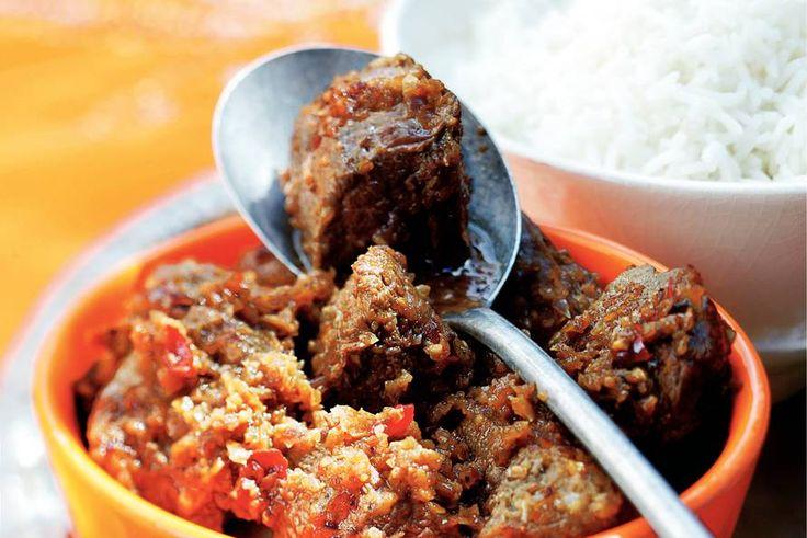 Kijk wat een lekker recept ik heb gevonden op Allerhande! Zoetzure curry met eend
