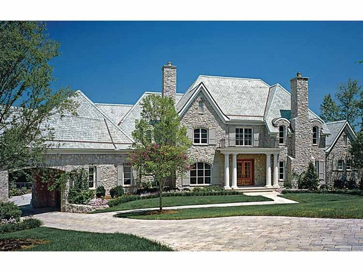 Best House Plans Images On Pinterest European Style Floor - European homes and house plans