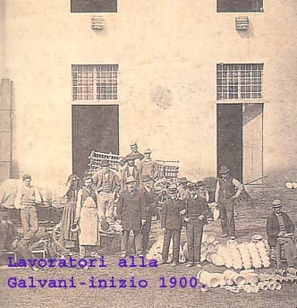Lavoratori Galvani 1900
