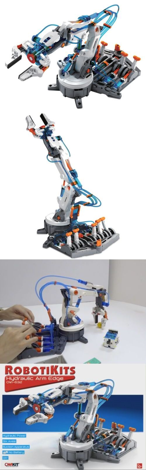 Other Science and Nature Toys 11737: Hydraulic Arm Edge Kit Educational Robotics Science Logic Skills Technology Toys -> BUY IT NOW ONLY: $53.99 on eBay!