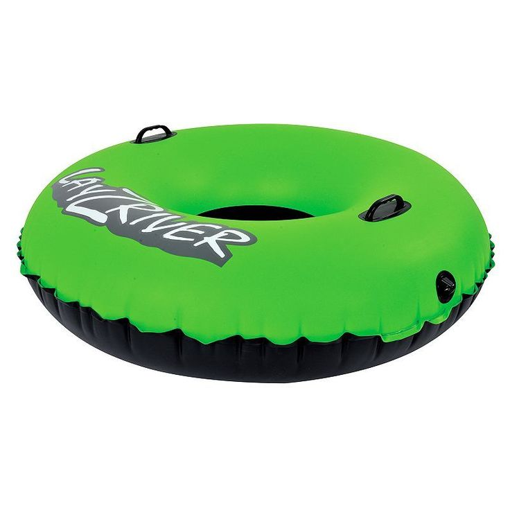 Blue Wave Sports Lay-Z-River 47-inch Inflatable River Float Tube, Green