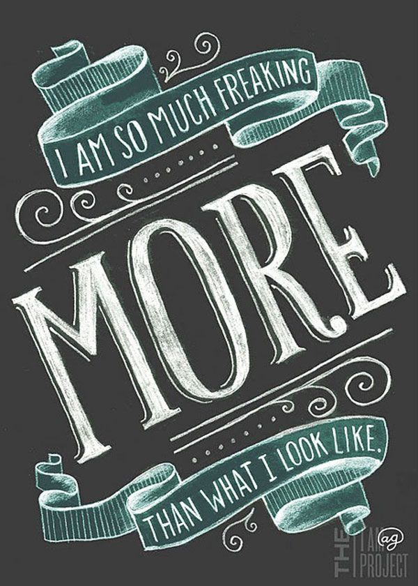 22 Awesome Chalkboard Typography Arts | Graphic Web Design Inspiration + Resources // just pinned for this image. Love it.