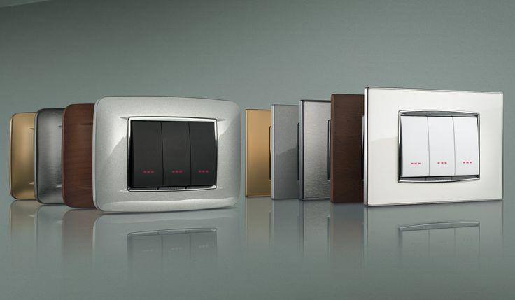 Vimar serie EIKON - lusso e tecnologia a quattro dimensioni. Eikon CHROME. http://www.vimar.com/it/it/eikon-lusso-e-tecnologia-a-quattro-dimensioni-1037122.html
