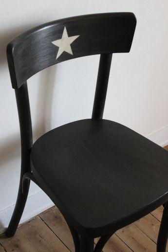 chaise bistro / les couleurs de brocantine