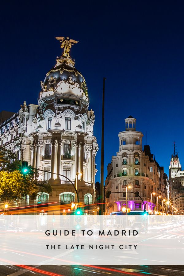 Madrid: The Late Night City via @PureWow