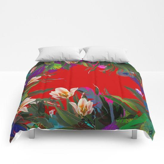 Flower carpet(61) Comforters