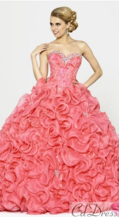 41 best quince dresses images on Pinterest   Ballroom dress, Quince ...