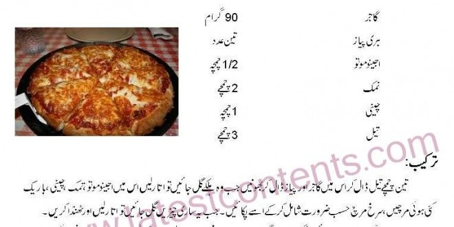 Simple Pizza Recipe in Urdu