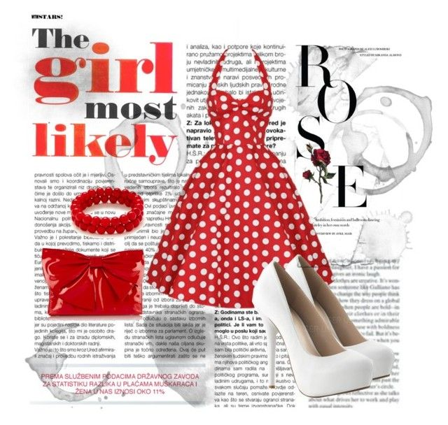 60's by stelamahomie on Polyvore featuring Valentino