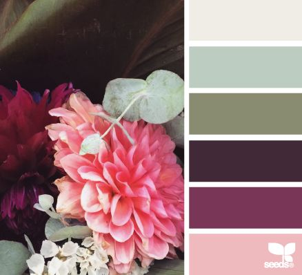 flora hues - this palette just makes me smile