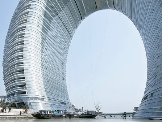 CINA: SHERATON MOON HOTEL DI MAD ARCHITECTS just wish this site wasn't only in Italian...