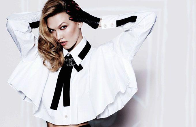 В ожидании праздника: Карли Клосс в Vogue Mexico