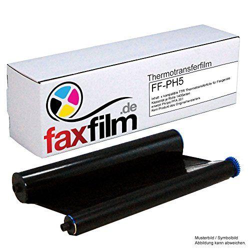 FAXFILM kompatibler Ink-Film ersetzt Philips PFA351 / PFA-351 / PFA 351 / PFA352 / PFA-352 / PFA 352 / geeignet für Philips Faxgerät Magic 5 / 5 Basic / 5 Eco / 5 Voice / PPF 631 / 632 / 636 / 650 / 675 / 676 / 685 / 695 / PPF620E / PPF650E / PPF685E / PPF631E Kapazität 140 Seiten #FAXFILM #kompatibler #Film #ersetzt #Philips #geeignet #für #Faxgerät #Magic #Basic #Voice #PPFE #Kapazität #Seiten