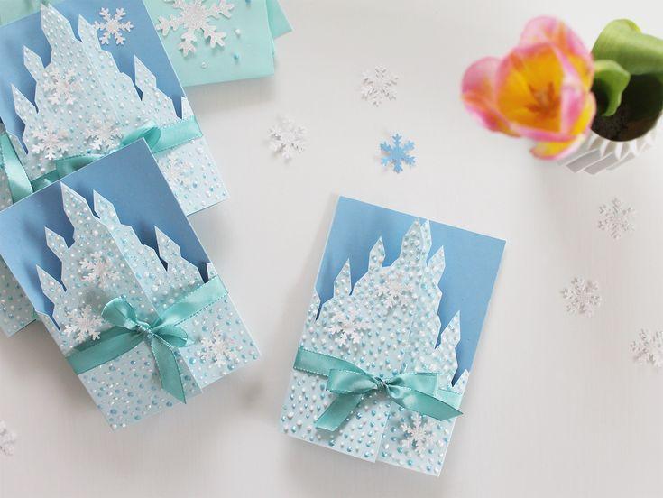 Frost fødselsdags Invitationer - skabelon - DIY