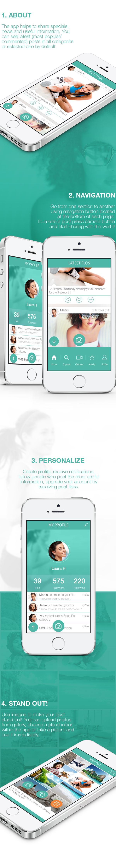 GottaFlo App by Southwalk G, via Behance