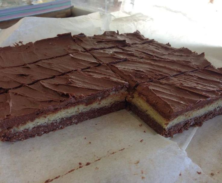 Recipe Paleo Chocolate Mint Slice by PhoenixChick - Recipe of category Desserts & sweets