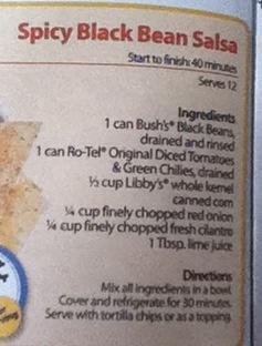 Spicy Black Bean Salsa! Yummy over fish. | Healthy food | Pinterest ...