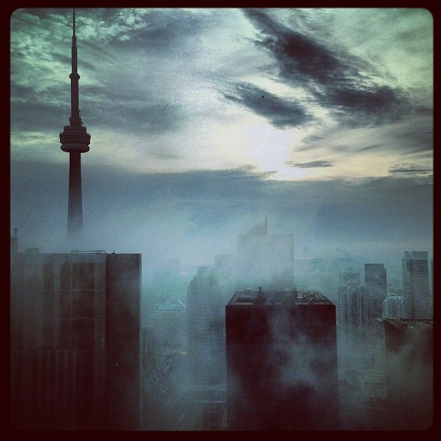 Toronto. Love this picture of my new home.