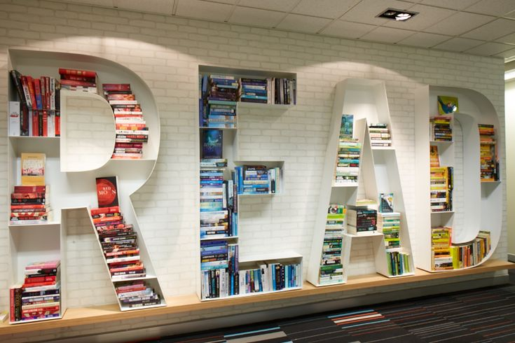 read bookshelf in the hachette australia books foyer