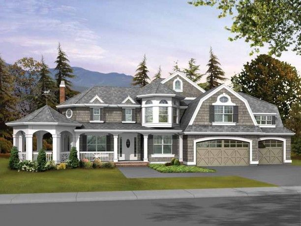 Craftsman 4 Bedroom 3 5 Bath Two Story With Front Porch