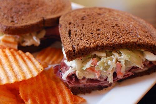 """The Rachel Sandwich ~ """"Or so she says..."""" Blog The Rachel cut took ..."""